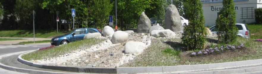 Galabau-Projekt Kreisel Gräfelfing